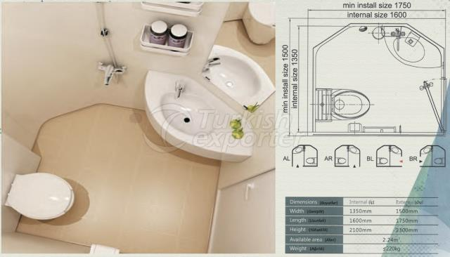 Unit Bathroom BM-1416